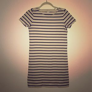 J. CREW Striped Mini Dress